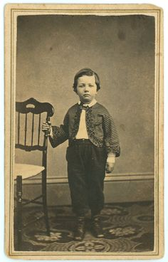 Handsome Victorian Boy - CIvil War Era
