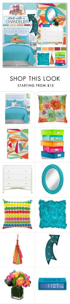 """""""start with a CHANDELIER"""" by stephlo-1 ❤ liked on Polyvore featuring interior, interiors, interior design, home, home decor, interior decorating, Trina Turk, Missoni Home, Brink & Campman and Whitmor"""