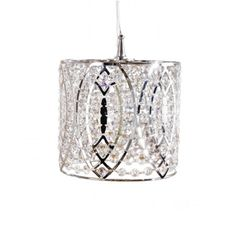 I love sparkly chandeliers