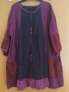 Gudrun Sjoden Purple Tunic Top