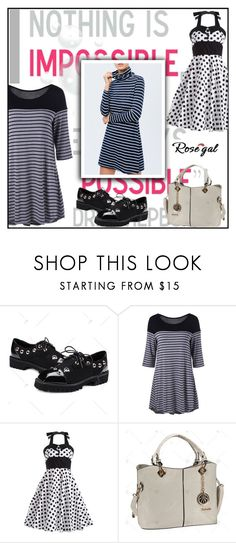 """""""120) Rosegal"""" by glosaryy ❤ liked on Polyvore featuring vintage"""