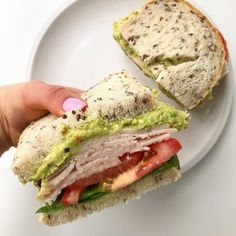 Five Healthy Sandwich Ideas for Lunch this week! Swipe and see - Five Healthy Sandwich Ideas for Lunch this week! Swipe and see Five Healthy Sandwich Ideas for Lunc - Healthy Low Calorie Meals, Healthy Meals For Kids, Easy Healthy Recipes, Healthy Snacks, Healthy Eating, Healthy Rice, Lunch Recipes, Keto Recipes, Dinner Recipes