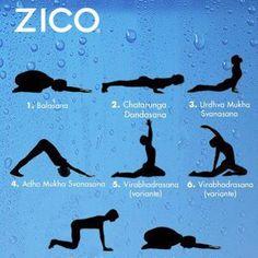 Posturas de yoga #ZICOEsp #yoga