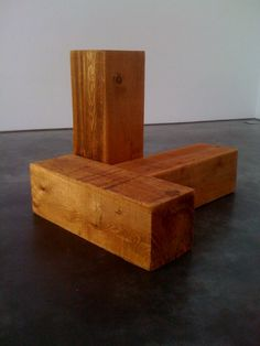 Carl Andre, The Way North and East (Uncarved Blocks), Vancouver, 1975