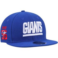 57f38c996 Lawrence Taylor New York Giants New Era Signature Side 9FIFTY Adjustable Snapback  Hat - Royal
