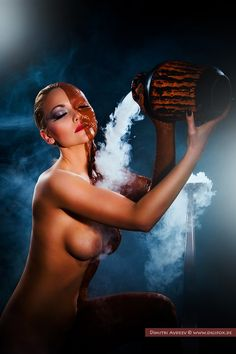 Ah, the erotic allure of smoke curling around a woman's face. The Smoke, Woman Face, Female Art, Veil, Erotic, Beautiful Women, Artist, People, Curling