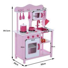 Diy Play Kitchen, Toy Kitchen, Kitchen Sets, Big Girl Bedrooms, Girls Bedroom, Bunk Beds Built In, Kids Zone, Creative Kids, Play Houses