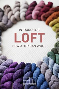 He blogs, he knits, he designs beautiful patterns, and now he creates wool yarn in yummy colors, great textures.... See the Look Books, buy the yarn, knit the patterns - you will love the results.