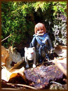 Gajan und Migrah - zwei Werwölfe frei und glücklich. Playmobil.
