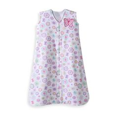 Product Image for Halo® SleepSack® Cotton Wearable Blanket in Flutter Petals 1 out of 4