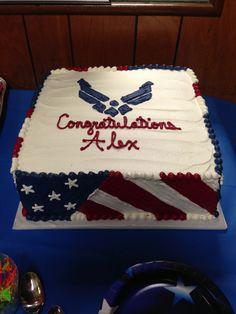 Airforce grad cake