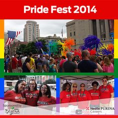 This weekend, we shared our #PurinaPride by celebrating Pride Fest to support our LGBT community in Downtown St. Louis.