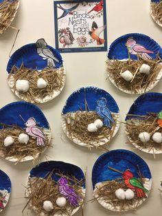 """- """" The Effective Pictures We Offer You About trends icon A quality picture can tell you many thin - Bird Crafts Preschool, April Preschool, Easter Crafts For Kids, Toddler Crafts, Preschool Activities, Bird Nest Craft, Paper Plate Crafts, Spring Activities, Animal Crafts"""
