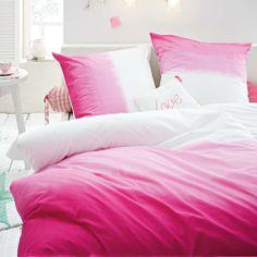 Bettwäsche Batik in pink bei IMPRESSIONEN