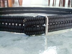 I can't believe how long it's been since I finished a belt. Well, I just completed my second Derweesh Mark III paracord belt , and it rem...