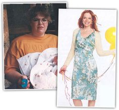 Carmen Tedder lost 102lbs! Her story was featured on the cover of Good Housekeeping Magazine in 2007!   www.weighdown.com