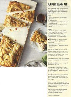 Pie of the Week: Cranberry Apple Slab Pie | Apple Slab Pie, Slab Pie ...
