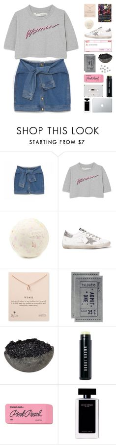 """""""when using Pokemon cards, please do not use the holographics"""" by megan-vanwinkle ❤ liked on Polyvore featuring DKNY, Off-White, Golden Goose, Dogeared, H&M, Jess Panza, Bobbi Brown Cosmetics, Paper Mate, Narciso Rodriguez and Color"""