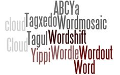 Word cloud tools