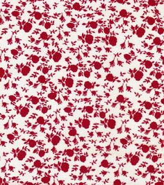 Simple border for a redwork quilt.   Quilter's Showcase Fabric- Floral Red & Cream http://www.joann.com/quilters-showcase-fabric--floral-red-cream/13331228.html Item # 13331228 $4.99 $3.74 25% off Keepsake Calico Prints