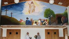 Painting a Mural for a Church