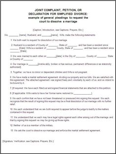 Certificate Of Divorce Template Printable