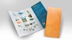 Vialink | Folder A3 para suporte à equipe de vendas.
