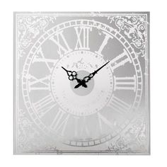 One Allium Way French Country Wall Clock