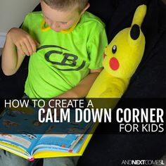 How to Create a Calm Down Space for Your Kids #autism #asd