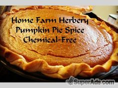Pumpkin Pie Spice, Order now, FREE shipping in San Francisco CA - Free San Francisco SuperAds
