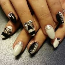 stiletto 3d nail art studs - Google Search