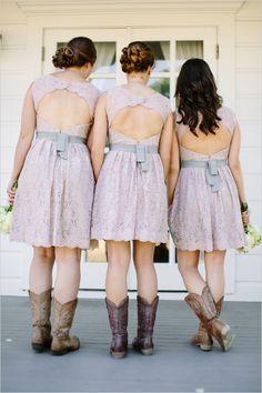 cute pastel purple bridesmaid dresses Wedding chicks feature.   Olympia's Valley Estate, barn wedding.
