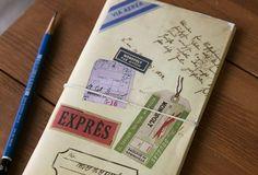 este cuaderno para que guardes tus ideas de viajes