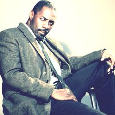 """BBC America really has created an amazing show.""""Luther"""" And Idris Elba is my new British Dexter. Not as disturbed, but very very deep. Edris Elba, Ruth Wilson, Bbc America, Dexter, Beautiful Black Women, Man Crush, Luther, Musicians, Movie Tv"""