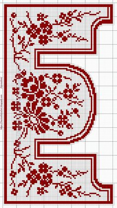 Annie's Crochet, Crochet Carpet, Fillet Crochet, Crochet Tablecloth Pattern, Crochet Curtains, Filet Crochet Charts, Crochet Borders, Cross Stitch Designs, Cross Stitch Patterns