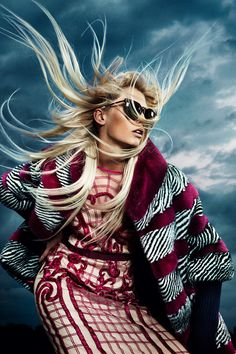 Touching the clouds, fashion photography by Susanne Stemmer