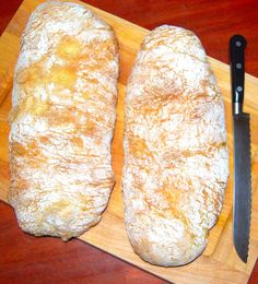 A foolproof recipe for a quick and easy ciabatta bread with short rise times. This Italian bread has the perfect hole structure and a beautiful texture.
