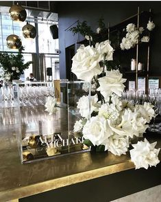 When bring the Bodoni name lockup to life on their amazing wishing well for Flowers . Floral Wedding, Wedding Flowers, Gift Card Boxes, Melbourne Wedding, Wedding Mood Board, Wedding Signage, Touch Of Gold, Table Flowers, Acrylic Box
