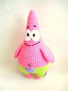 Free Crochet Pattern Patrick Star : 1000+ images about amigurumi on Pinterest Adventure time ...