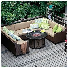 View Wilson & Fisher® Riviera Resin Wicker Armless Sofa Deals at Big Lots