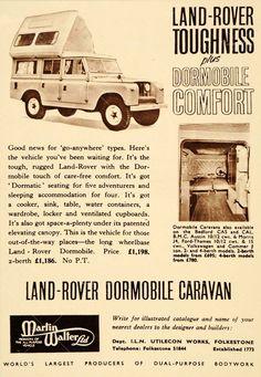 Land Rover Toughness + Dormobile Comfort