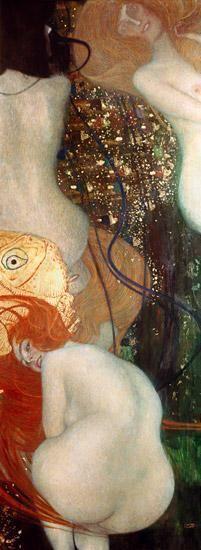 Gustav Klimt - poisson d'or