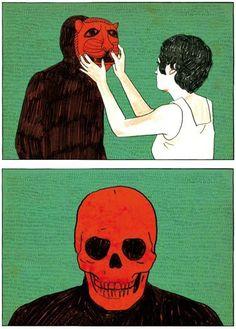 Illustration by Sonia Pulido    #anatomy #skull