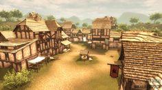 Medieval Village by barbeaulex on DeviantArt