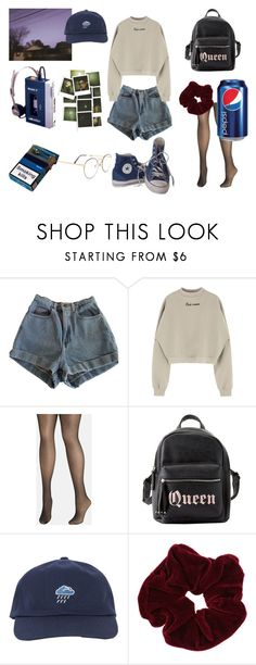 """emo 90s"" by marylizzy2011 on Polyvore featuring moda, American Apparel, Avenue, Charlotte Russe, Converse y Miss Selfridge"