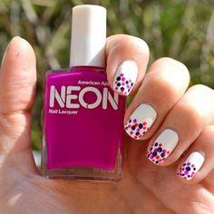 Neon accents! #AmericanApparel