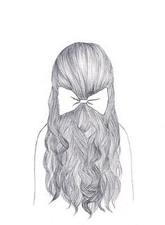 girl hair drawing tumblr - Google Search