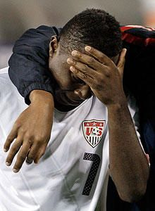 The agony of defeat. So sad for Men's USA Soccer.