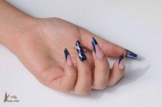 tutorial ricostruzione unghie mandarla gotica