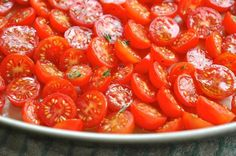 Tracklements Cherry Tomatoes for Tracklements Roasted Cherry Tomato Relish #Tracklements #Tomato #Relish